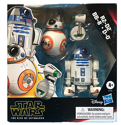 Star Wars - Galaxy of Adventures - R2D2, BB-8, D-O FIGURINES - NEW - AUS STOCK