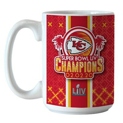 Kansas City Chiefs Super Bowl Liv Champions 15Oz. Roster Mug