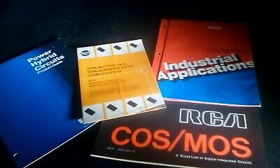4 RCA Circuit Catalogs Guides Digital Linear Hybrid Industrial COS MOS Power