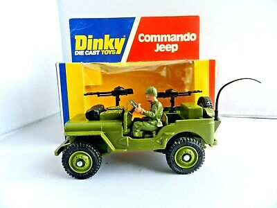 spare parts Dinky U.S.A  Army Jeep No.612  Machine Gun Painted  Metal Casting