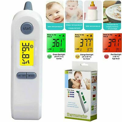 Non-Contact Digital LCD Ear Thermometer Infrared Baby Adult Forehead Temperature