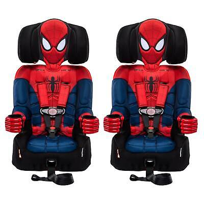 Kids Embrace Marvel Spider Man Combination Harness Booster Car Seat (2 Pack)