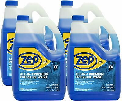Zep All-in-1 Pressure Wash Cleaner ZUPPWC160(Case of 4) Concentrated Pro Formula