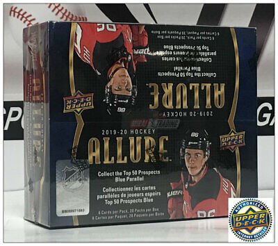 2019-20 Upper Deck Allure NHL Hockey Retail Box