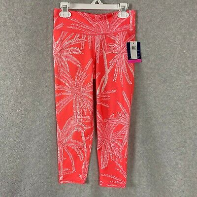 Gap Kids GapFit Girls Athletic Pants Sport Leggings Cropped Size Large NWT