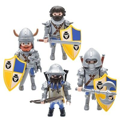 Playmobil Chef Des Chevaliers Du Lion Impérial Soldier figure medieval castle