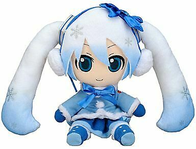 Plush Doll Snow Miku Fluffy Coat Ver. Character Vocal Series 01 Hatsune