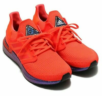 Adidas Ultra Boost 20 'Space Race' Solar Red & Blue Violet