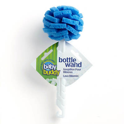 Baby Buddy Bottle Wand, Sponge Head, Hangable, 360 Degree Cleaning Baby Bottle,