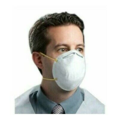 N95 Approved Disposable Particulate Respirator Mask Filters Virus - Sleeve of 20