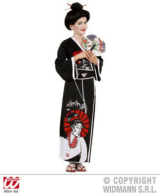 Girls Geisha Costume for Chinese Oriental Kimono Fancy Dress Up Outfits