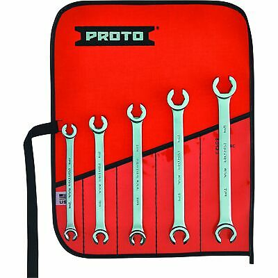 Proto 5-Pc. Set of Wrenches with Double End Flare Nut Design - Model# J3700M