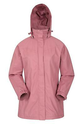 Mountain Warehouse Womens Waterproof Jacket with Highly Breathable Membrane