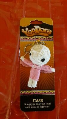 NEW Wesley The Boxer YooDara Power Tribe Yarn Doll Key Chain