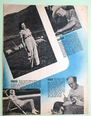 Original 1938 Magazine Photo Article features Bob McGaw Havre De Grace Maryland