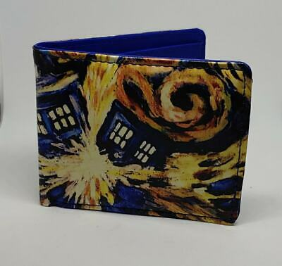 "WHOVILLE New Blue 10 x 12 cm PVC Bifold Doctor Who 4x5/"" Bi-fold Wallet"