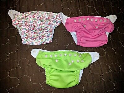 Charlie Banana Cloth Diapers (3 Pockets, 6 Inserts)