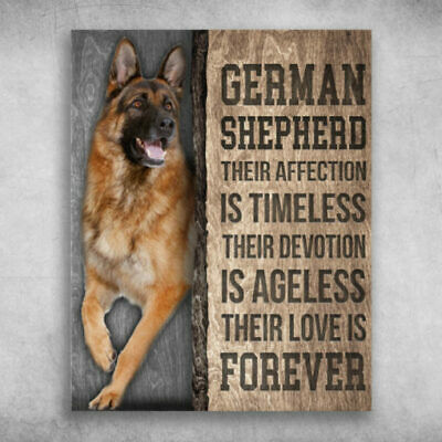 German Shepherd Their Affection Is Timeless Poster No Frame Mothers Day Gift