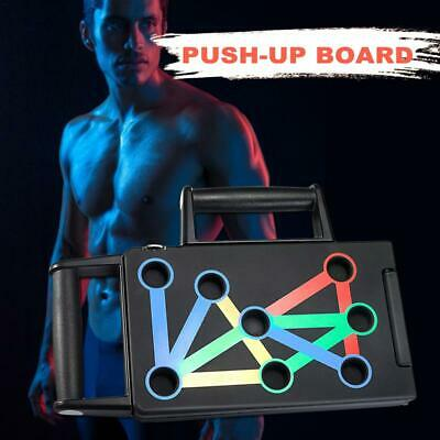 Foldable Push Up Board Bracket Push-up Stand Gym Fitness Body Training Gym