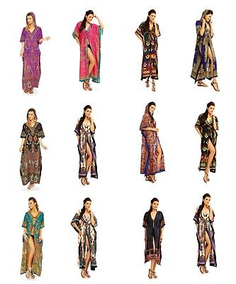 Job Lot Clearance Wholesale Parcel  of Ladies Kaftans and Kimons Dresses