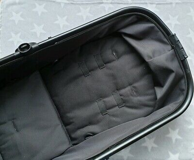 Mothercare Journey Carrycot/Pram Sub Seat Unit in Black with Black Metalwork