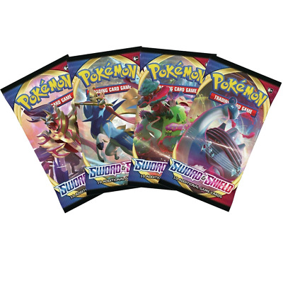 Pokemon Sword And Shield Booster Pack ( 1 BOOSTER PACK)