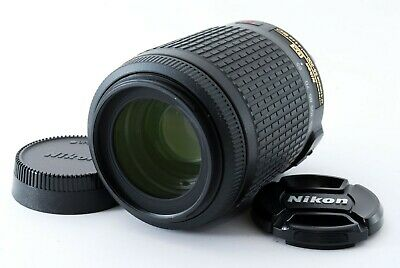 【Excellent】Nikon AF-S 55-200mm f/4-5.6G ED VR DX SWM IF from Japan 542974