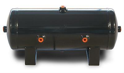 "Air Lift 10980 Air Tank 2.0 Gallon Black Six 1/4"" Ports Each"
