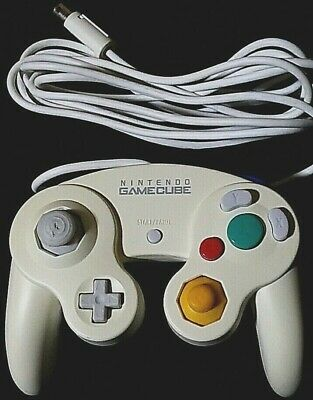 Nintendo GameCube Controller White Used Tested and Working DOL-003