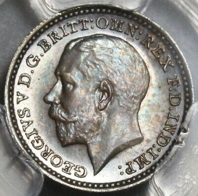 1920 PCGS PL 65 George V 2 Pence Maundy Proof Like Great Britain Coin (20020602C