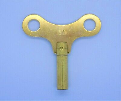 New Brass Winding / Clock Key For Mantle & Bracket Clock Size 12 / 5.25 mm