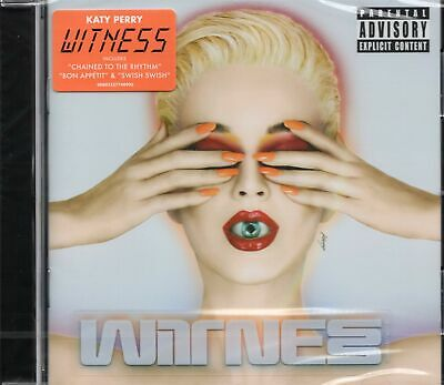 Katy Perry - Witness (2017 CD) New & Sealed