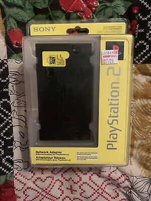 NEW Official OEM Sony PlayStation 2 PS2 Network Adapter SCPH-10281 HDD Authentic