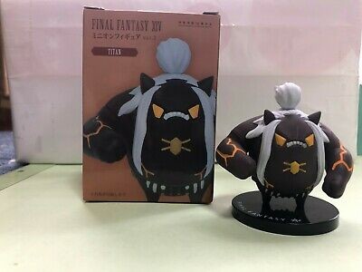 Final Fantasy XIV FFXIV Titan Minion Figure vol.3 TAITO 2017 Prize Slightly Used
