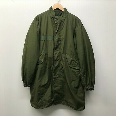 Vintage M65 Fishtail Parka with Liner & Hood Size Small US ARMY 1970's c-98