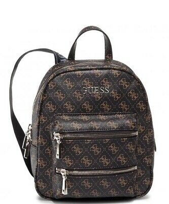 BORSA GUESS ZAINO Caley backpack ecopelle Caley colore brown