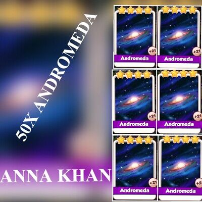 50x Andromeda :- Coin Master Cards ( Fastest Delivery )