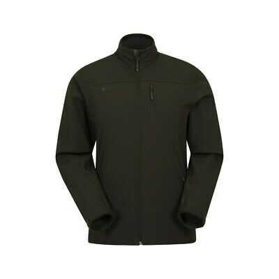 Mountain Warehouse Grasmere Softshell Jacket w/ Water-resistant & Bonded Fabric