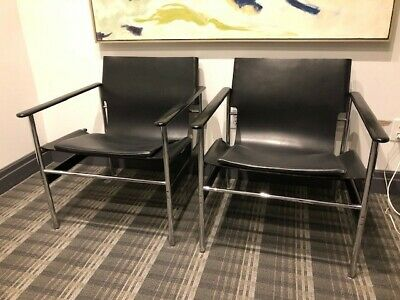 knoll chairs, mid century modern, pollack lounge chairs,