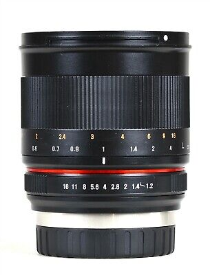 Samyang 50mm F1.2 UMC CS Fuji X Fit DSLR Lens  -  Refurbished