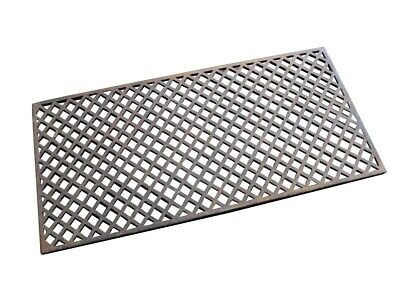 Victorian Large Decorative Cast Iron Floor Grilles - Grids Heating Covers - UKAA