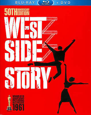 West Side Story [Three-Disc 50th Anniversary Blu-ray/DVD Combo in Blu-