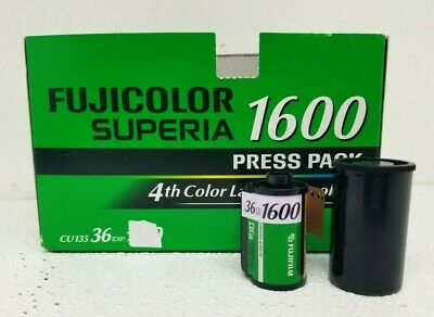 1 Roll Fujifilm Superia 1600 Fujicolor 36 Exposure 35mm (4th Color Layer) EXP 08