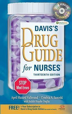 Davis's Drug Guide for Nurses + Resource Kit CD-
