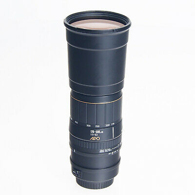AS-IS Canon Sigma 170-500mm F5-6.3 APO Auto Focus Telephoto Zoom EF Mount Lens