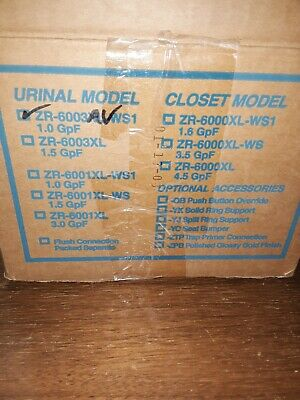 Zurn ZR6003AV URINAL FLUSH VALVE--NOS--OPEN BOX..