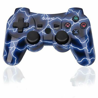 Wireless Dualshock3 PS3 Controller Bluetooth Sixaxis Remote Gamepad Heavy Duty