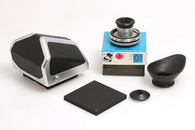 Pentacon Six Prism Finder with Eye Cup and Klapp-Lupe