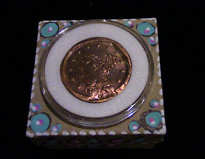 Past Life Relic - Your 1800s Braided Coronet Large Cent Comes Home to You!