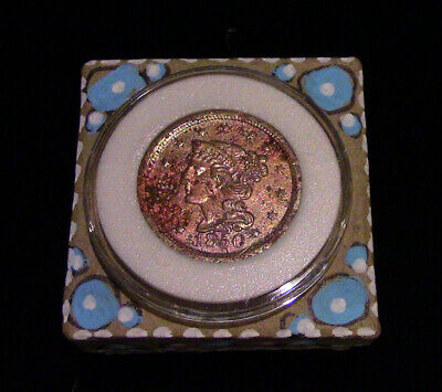Past Life Relic - Your 1850 Braided Coronet Large Cent Comes Home to You!